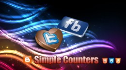 Blogger-плагин Simple Counters