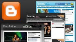 Шаблон XML темы Revolution Church для Blogger-блога. Расширенная версия.
