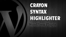 Подсветка кодов в блоге. Crayon Syntax Highlighter