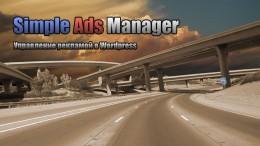 Simple Ads Manager. Дорожная карта